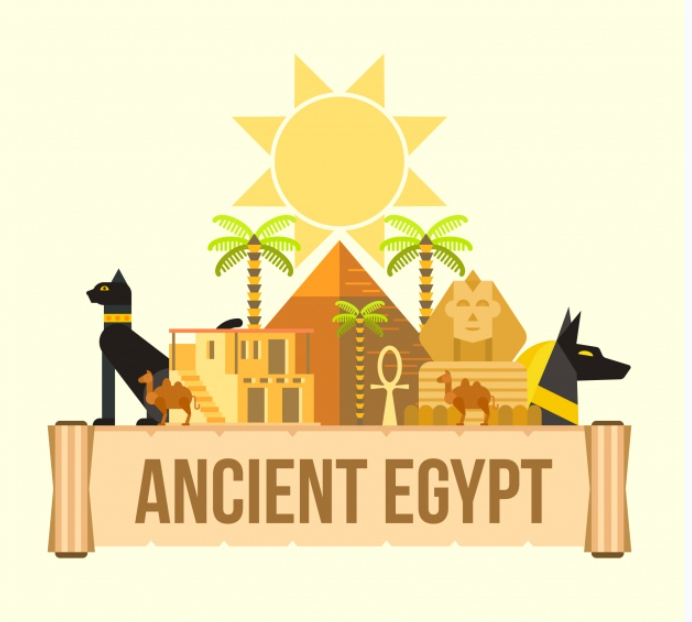 Ancient Egypt design clothing