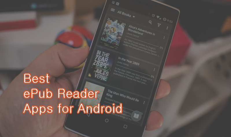 Best ePub Reader Apps for Android
