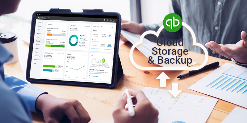 Keep Your Accounting data Safe with QuickBooks Cloud Storage & Backup