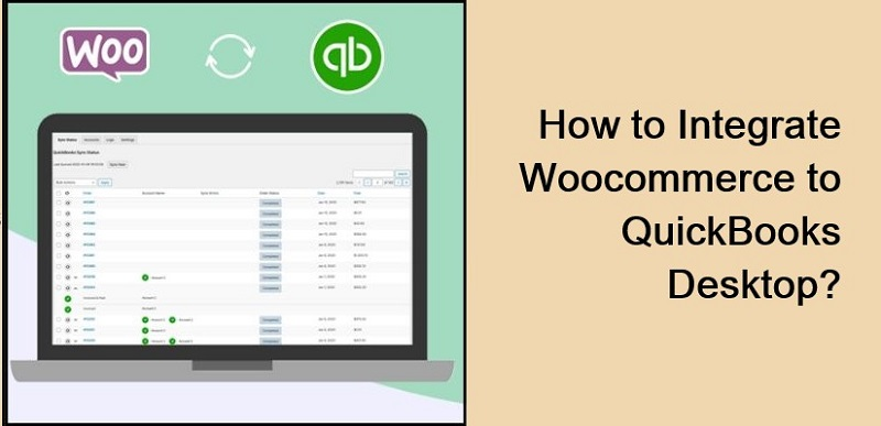 How to WooCommerce Sync for QuickBooks Desktop?