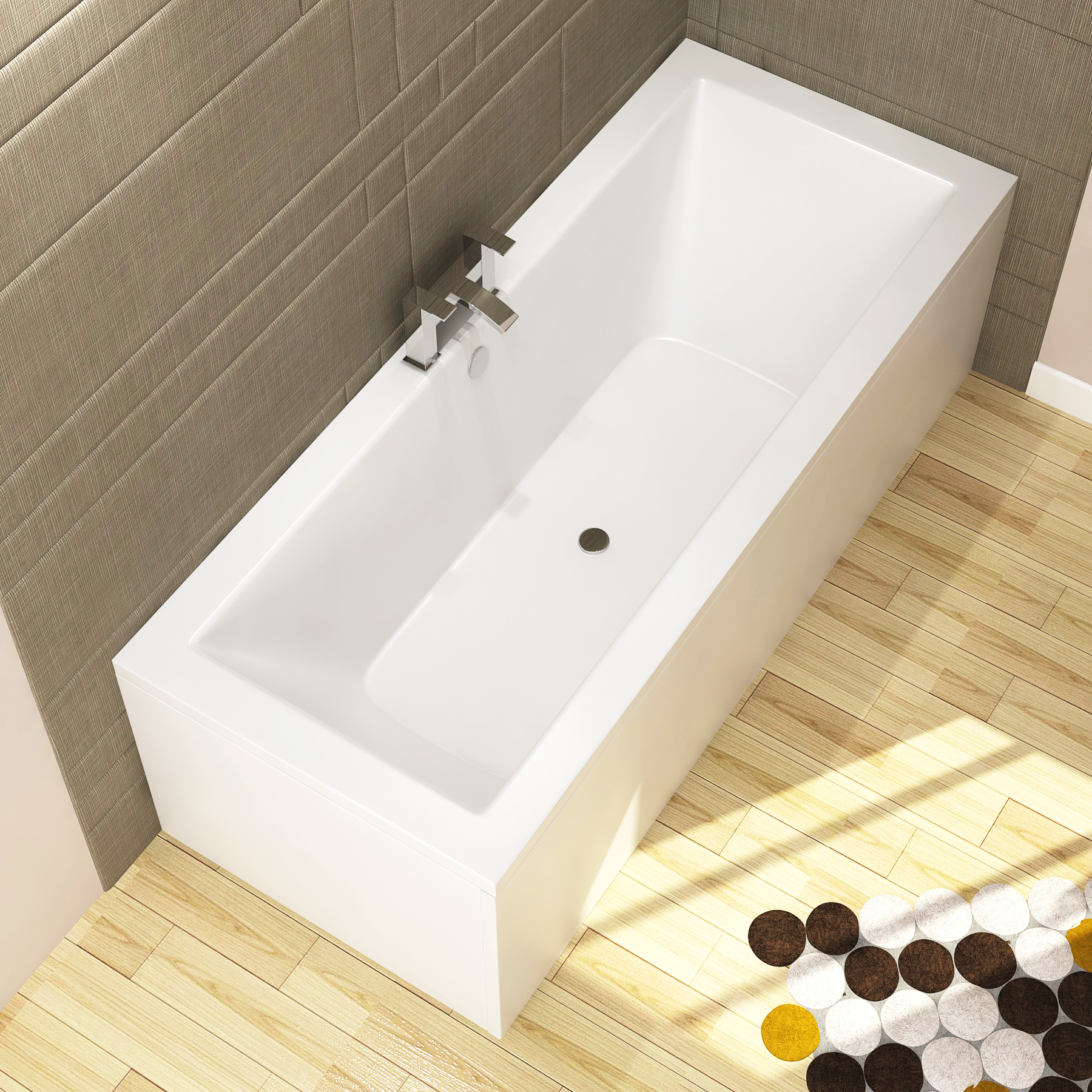 Top Consideration When Choosing Your 1800mm Shower Bath Material