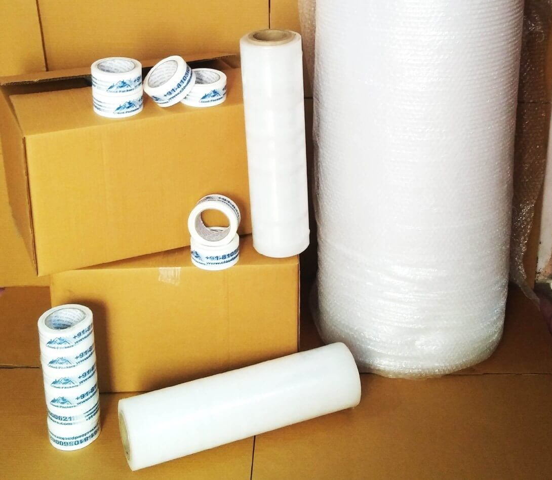 All packing material by Cloud Packers