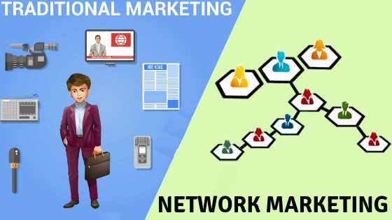 Network Marketing Vs Traditional Marketing: What to Choose