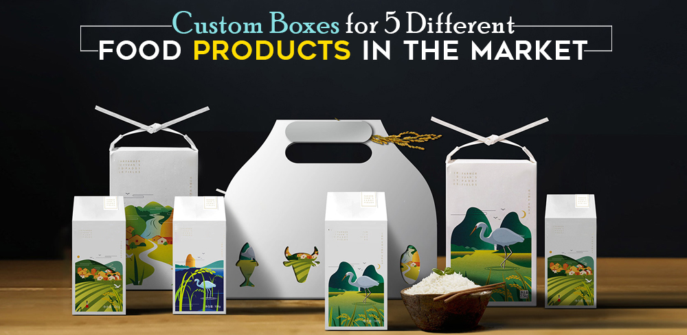 Food Products custom boxes