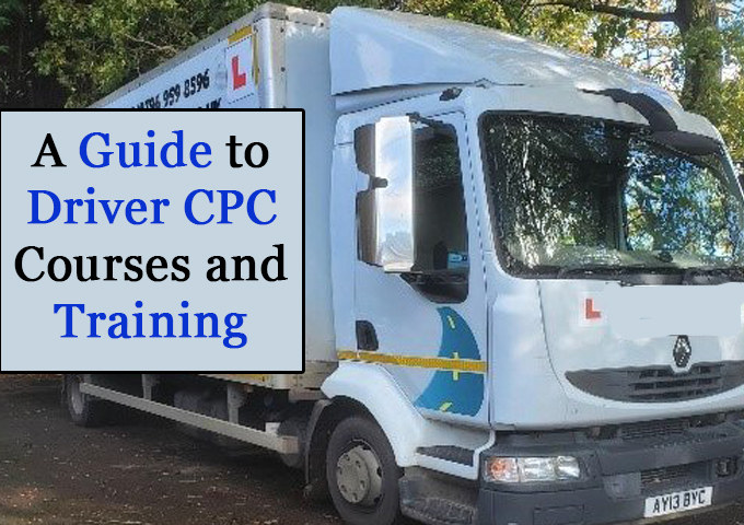 A guide to Driver CPC Courses and