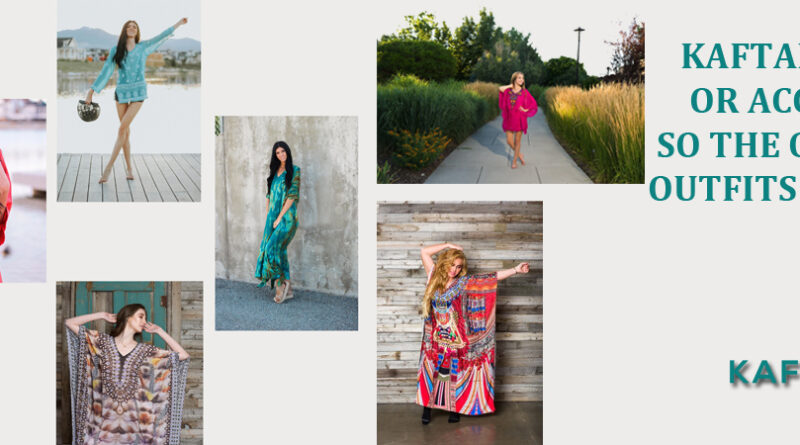 How to Style with a Kaftan