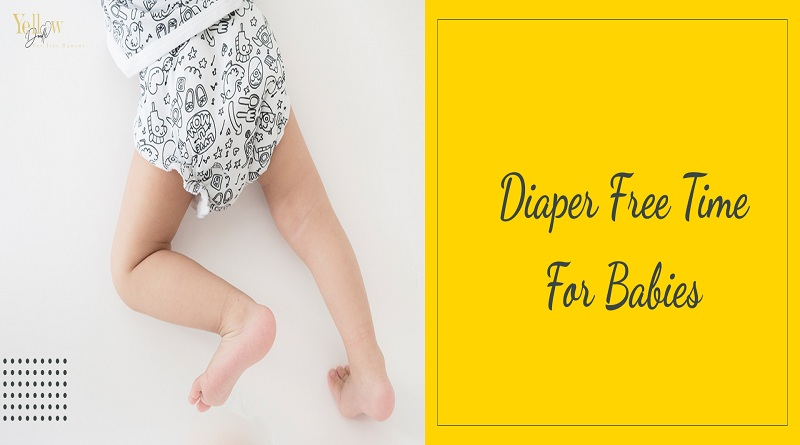 Diaper Free Time For Babies-